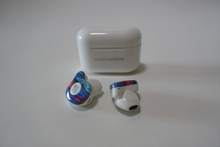 連続再生 音量調節】Senzer Q20 完全 ワイヤレス イヤホン Bluetooth イヤホン Hi,Fi音質 AAC対応 IPX5防水  スポーツ イヤホン 自動ペアリング 軽量 片耳・両耳